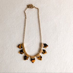 J Crew Tortoise Necklace